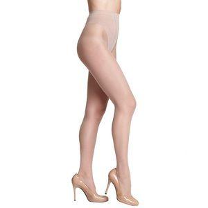 Donna Karan  Sheer Tanga Pantyhose in BUFF TALL